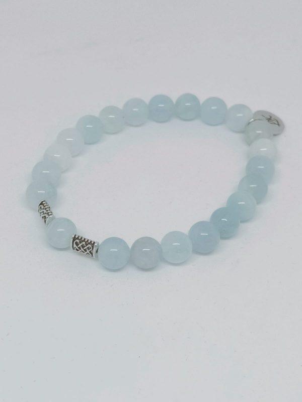 Aquamarijn-armband